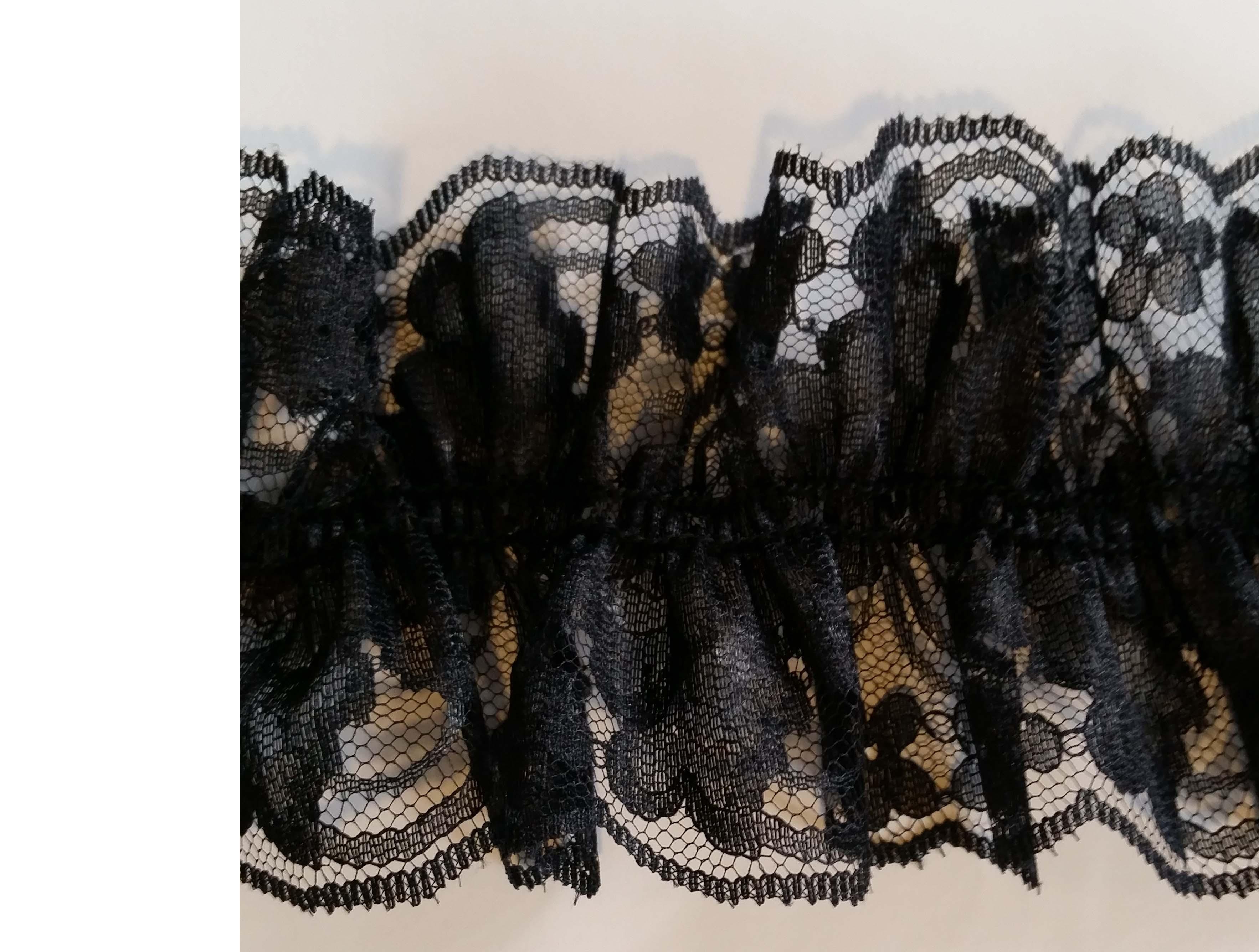Ruffled Elastic Lace #EM3422