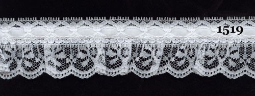 Ruffled Lace #1519