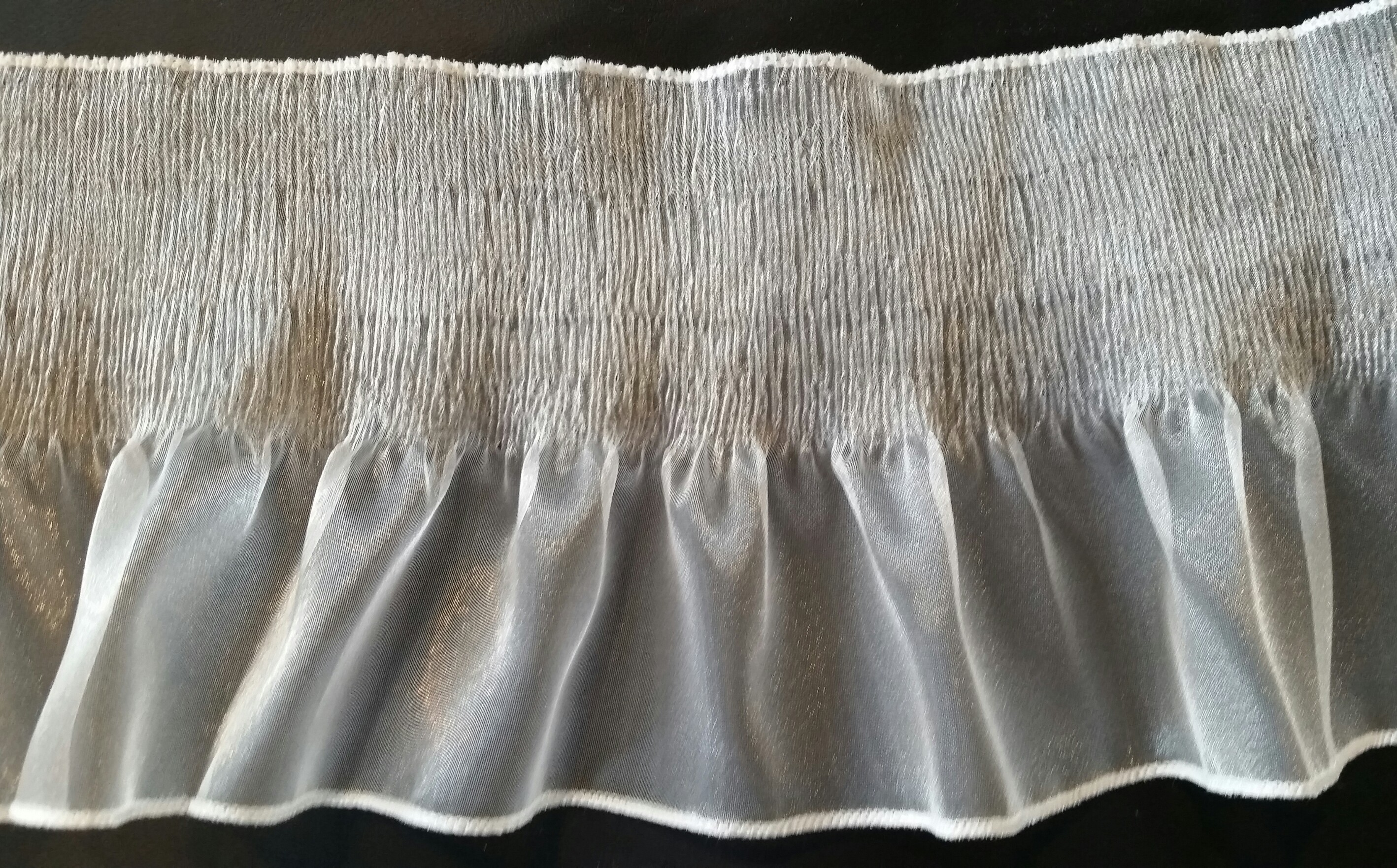 Crystal Pleated Organza #6178CRP
