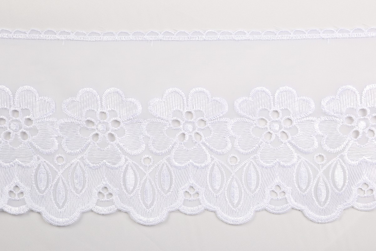 """Embroidered Organdy #5297/7"""""""