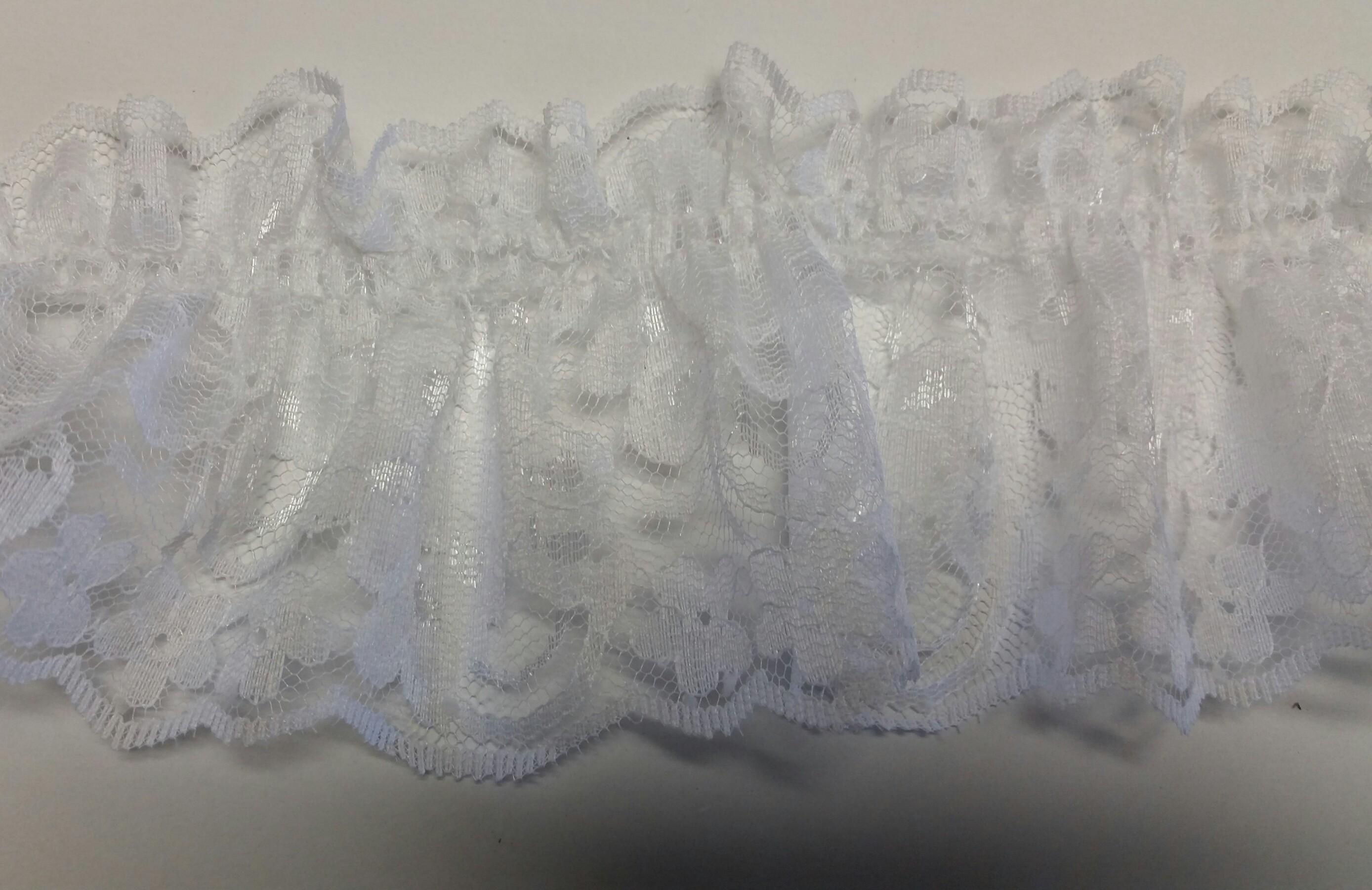 Elastic Lace Ruffle #E3422