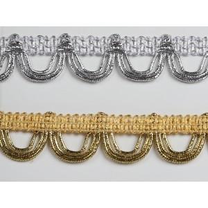 "2"" Metallic Braid #9581M"