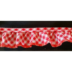 Ruffled Gingham #301G